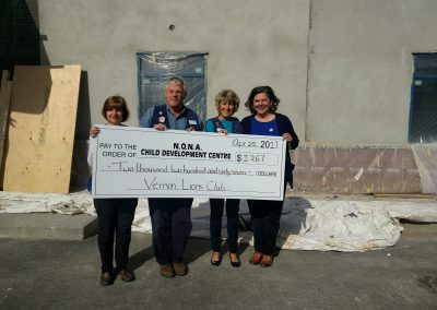 NONA-CDC Clubhouse Builder – Vernon Lions Club
