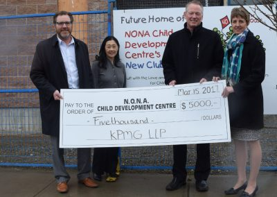 KMPG  donation to NONA Child Development Centre