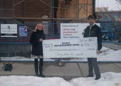 Telus donation to NONA Child Development Centre