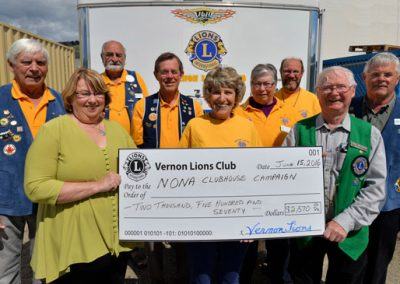 NONA-CDC Clubhouse Builder - Vernon Lions Club