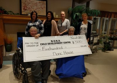 Noric House donation to NONA Child Development Centre